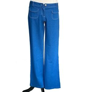 NBW /EC 09' Theory flare/wide leg trouser jeans